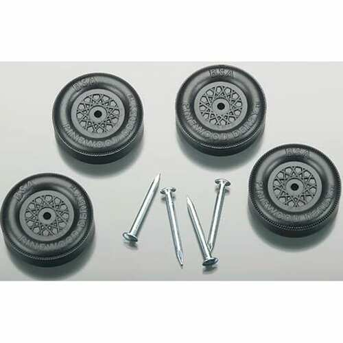Revelling Pinewood Derby Wheels