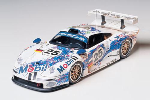 TAM-24186  1/24 Porsche 911 GT1 24-Hrs LeMans Race Car