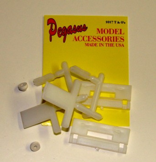PGH-1017  1/24-1/25 T & O's Parts (2) to Make Hopper Kits