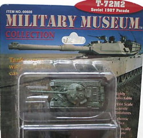PGH-608  1/144 T72M2 1987 Parade Soviet Tank (Assembled)