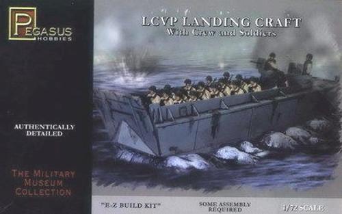 PGH-7650  1/72 LCVP Landing Craft (Snap)