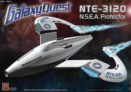 PGH-9004  1/1400 Galaxy Quest: NTE3120 NSEA Protector Spaceship
