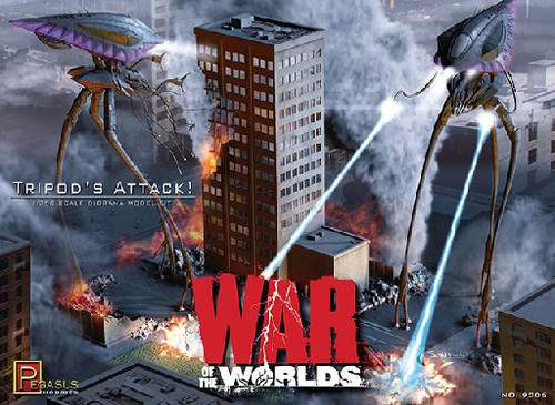 PGH-9006  1/350 War of the Worlds: Tripod's Attack Diorama