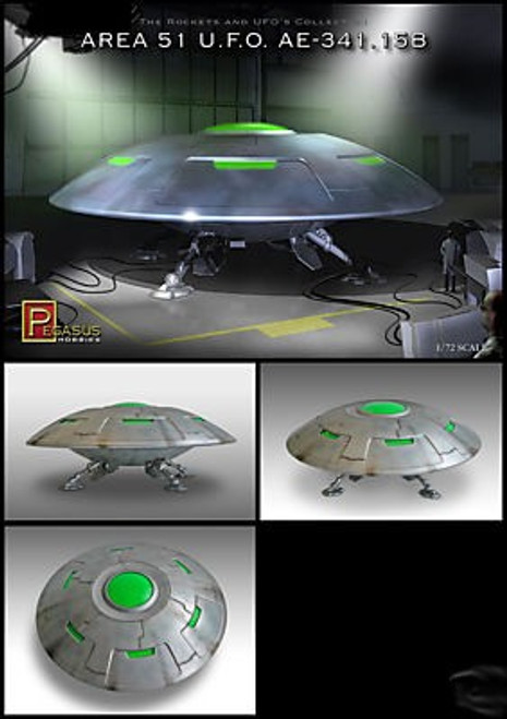 PGH-9100  1/72 Area 51 UFO AE341.15B