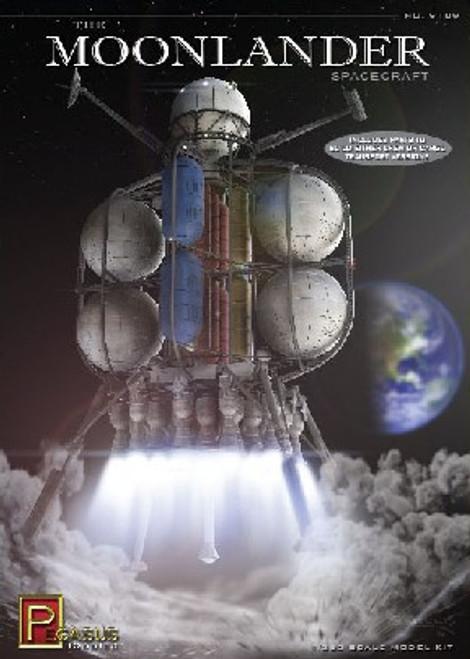 PGH-9109  1/350 The Moonlander Spacecraft (Build Crew or Cargo Transport)