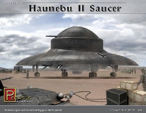 PGH-9119  1/144 Haunebu II German WWII UFO Saucer