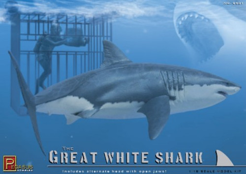 PGH-9501  1/18 The Great White Shark