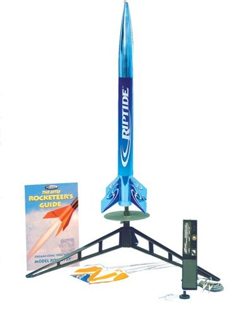 EST-1403  RTF Riptide Model Rocket Launch Set