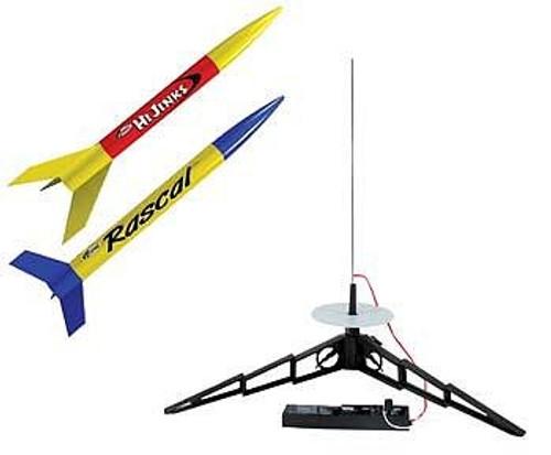 EST-1499  RTF Rascal & HiJinks Model Rocket Launch Set (2 Kits)