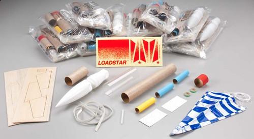 EST-1760  Loadstar II Model Rocket Kits (Skill Level 2) (12/Bulk Pk)