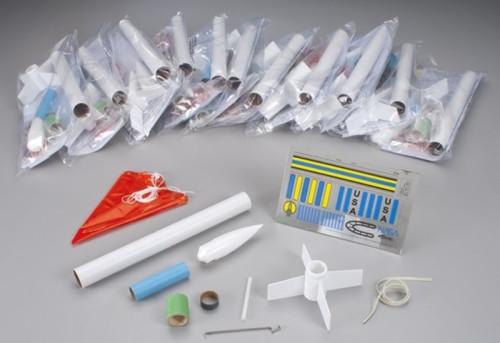 EST-1764  Generic Model Rocket Kits (Skill Level E2x) (12/Bulk Pk)