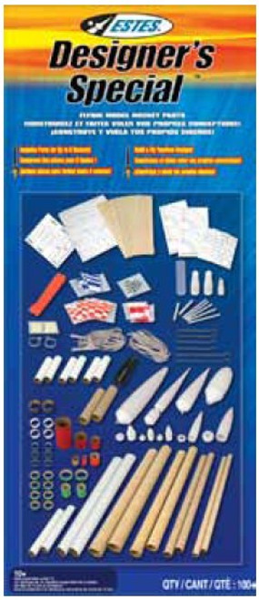 EST-1980  Designer's Special Model Rocket Parts Kit