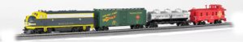 BAC00826  HO Thunder Chief Train Set w/EZ Command Sound