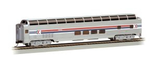 BAC13005  HO 85' Budd Full Dome/Lighted, Amtrak/Phase I