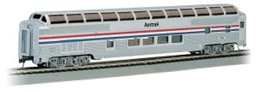 BAC13032  HO 85' Budd Full Dome/Lighted, Amtrak/Phase II