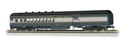 BAC13602  HO 72' Heavyweight Combine, B&O/Blue/Gray/Black