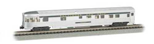 BAC14553  N 85' Fluted Streamline Observation w/Lighting,B&O