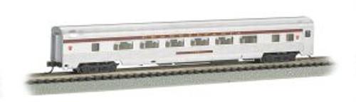 BAC14752  N 85' Fluted Streamline Coach w/Lighting, PRR