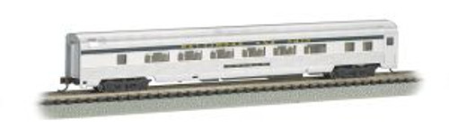 BAC14753  N 85' Fluted Streamline Coach w/Lighting, B&O