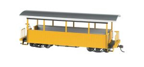 BAC26003  On30 Spectrum Excursion Car, Yellow/Silver Roof