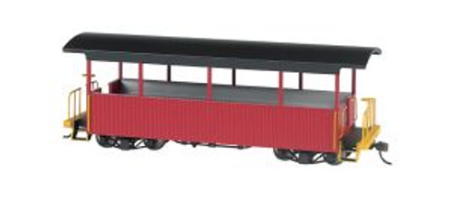 BAC26004  On30 Spectrum Excursion Car, Burgundy/Black Roof