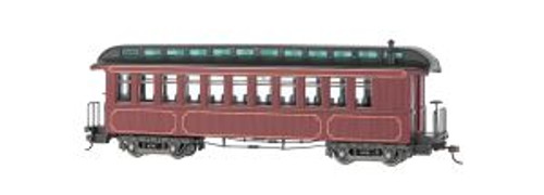 BAC26201  On30 Spectrum Convert Coach/Observation, Burgundy
