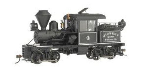 BAC28806  On30 14-Ton Stearns-Heisler w/DCC, Midwest Quarry