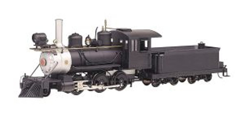 BAC29304  On30 Spectrum 2-6-0 w/DCC, Undecorated/Black