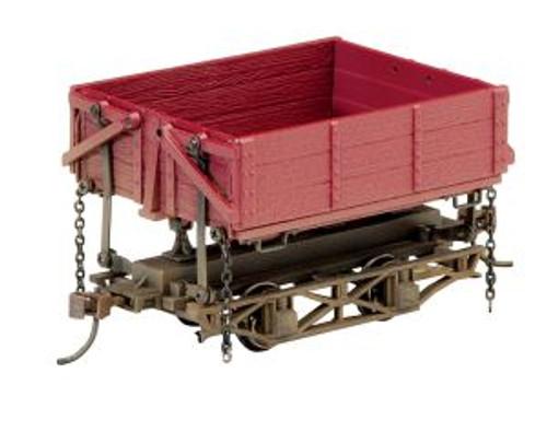BAC29801  On30 Spectrum Wood Side Dump Car, Red (3)