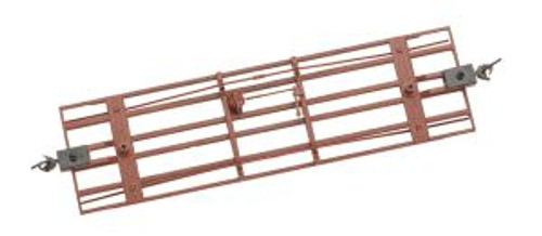 BAC29907  On30 Spectrum Freight Car Underframe, Red (3)