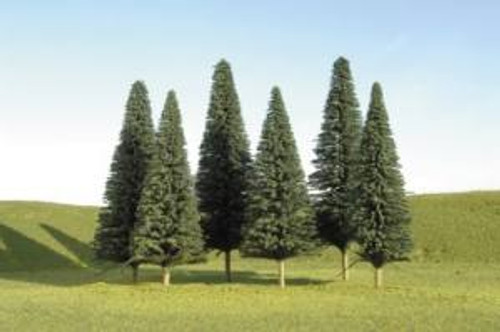 """BAC32101  Scenescapes Pine Trees, 3-4"""""""" (9)"""