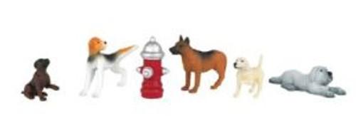 BAC33158  O Dogs w/Fire Hydrant (6)
