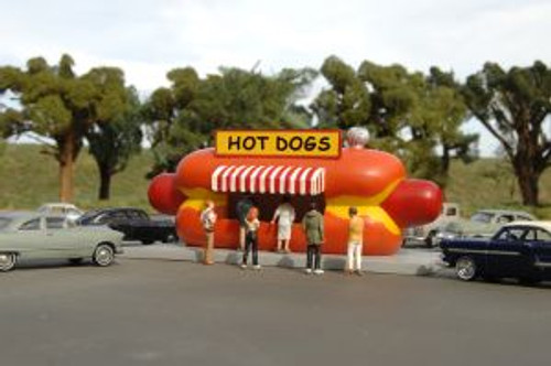 BAC35206  HO Hot Dog Stand