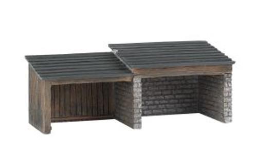 BAC35908  HO Building Front, Storage Shed