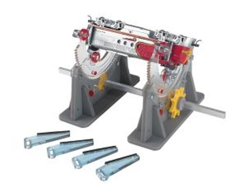 BAC39018  Rotating Locomotive Cradle, Multi-Angle