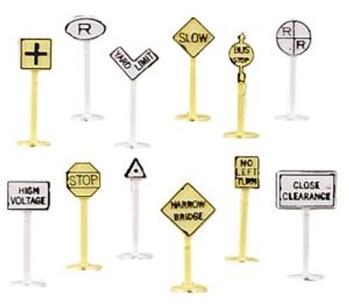 BAC42513  N Railroad & Street Signs (24)