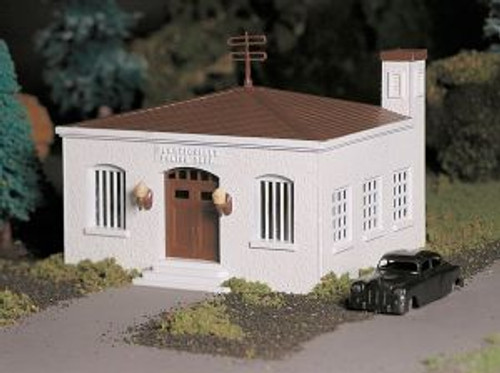 BAC45609  O Snap KIT Police Station w/Car