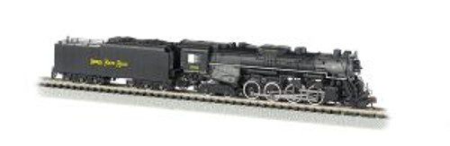 BAC50952  N 2-8-4 w/DCC & Sound Value, NKP/Railfan #759
