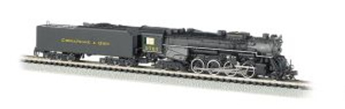 BAC50953  N 2-8-4 w/DCC & Sound Value, C&O/Kanawha #2724