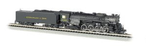 BAC50954  N 2-8-4 w/DCC & Sound Value, C&O/Kanawha #2760