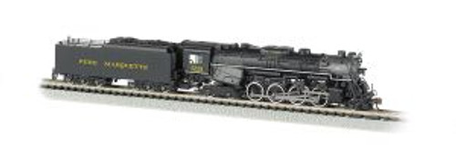 BAC50955  N 2-8-4 w/DCC & Sound Value, PM #1225