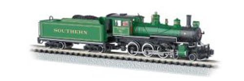 BAC51458  N 4-6-0 w/DCC, SOU/Green w/Gold Stripes #1012