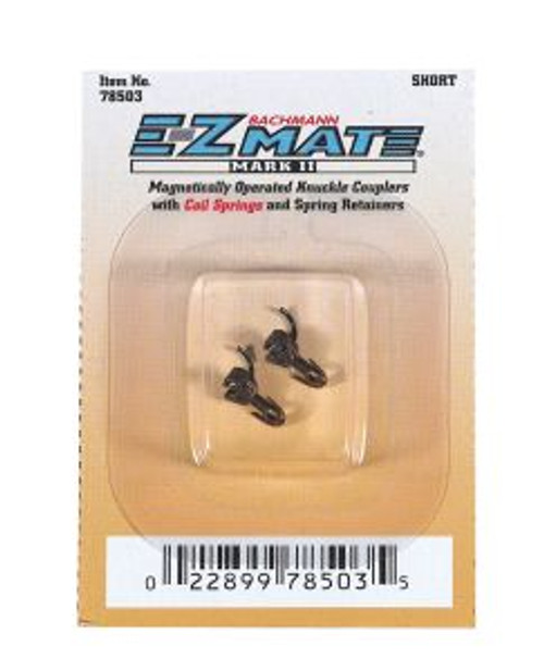 BAC78503  N EZ Mate Mark II Center Knuckle Coupler, Short (Sheet of 12)