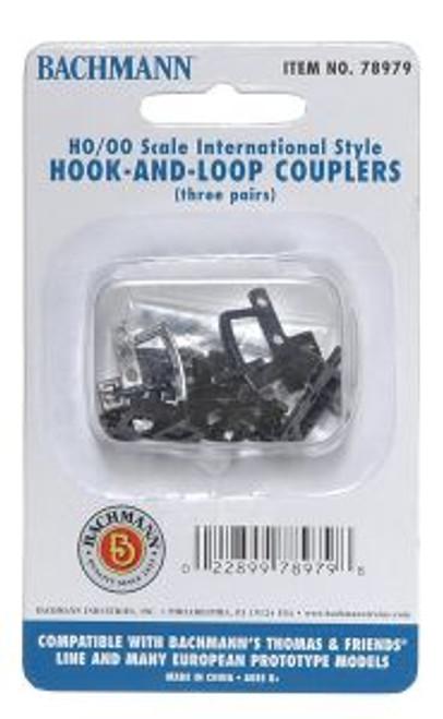 BAC78979  HO Thomas Hook & Loop Coupler (3pr)