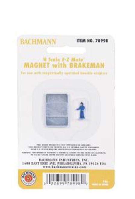 BAC78998  N EZ Mate Uncoupling Magnet w/Brakeman