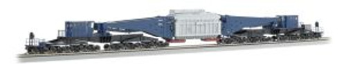 BAC80501  HO Spectrum 380-Ton Schnabel Car, Blue/Black