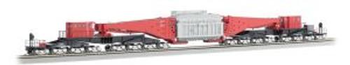 BAC80503  HO Spectrum 380-Ton Schnabel Car, Red/Black