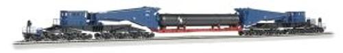 BAC80511  HO Spectrum Scnabel w/Retort/Cylider Load,Blue/Blk