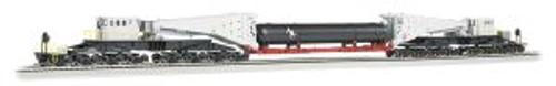 BAC80512  HO Spectrum Scnabel w/Retort/Cylider Load,Gray/Blk