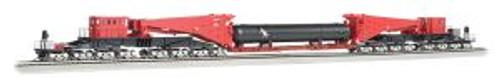 BAC80513  HO Spectrum Scnabel w/Retort/Cylider Load, Red/Blk